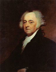 John Adams by Asher B. Durand Framed Print on Canvas