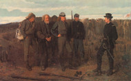 Prisoners by Winslow Homer Framed Print on Canvas
