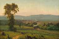 The Lackawanna Valley Railroad 1856 by George Inness Framed Print on Canvas