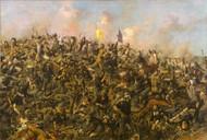Custer's Last Stand 1899 by Edgar Samuel Paxson Framed Print on Canvas