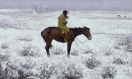 The Herd Boy 1900 by Frederic Remington Framed Print on Canvas