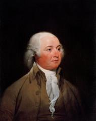 John Adams 1792 by John Trumbull Framed Print on Canvas