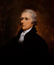 Alexander Hamilton by John Trumbull Framed Print on Canvas