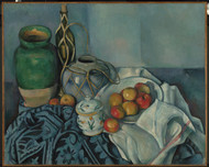 Still Life with Apples 1893 by Paul Cezanne Framed Print on Canvas