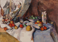 Still Life with Apples 1895 by Paul Cezanne Framed Print on Canvas