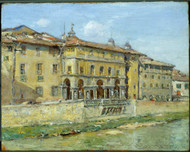 Florence 1907 by William Merritt Chase Framed Print on Canvas