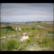 Landscape Shinnecock, Long Island 1896 by William Merritt Chase Framed Print on Canvas