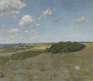 Sunlight and Shadow, Shinnecock Hills by William Merritt Chase Framed Print on Canvas