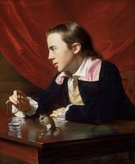 A Boy with a Flying Squirrel 1765 by John Singleton Copley Framed Print on Canvas