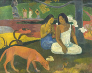 Joyfulness 1892 by Paul Gauguin Framed Print on Canvas