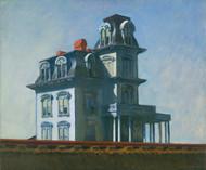 The House by Edward Hopper Framed Print on Canvas