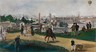 From the World Exhibition in Paris 1867 by Edouard Manet Framed Print on Canvas
