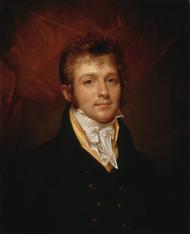 Portrait of Edward Shippen Burd of Philadelphia 1806 by Rembrandt Peale Framed Print on Canvas