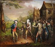 Rip Van Winkle 1829 by John Quidor Framed Print on Canvas