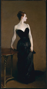 Madame X (Madame Pierre Gautreau) 1883 by John Singer Sargent Framed Print on Canvas