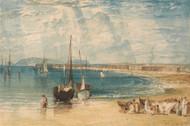 Weymouth 1811 by Joseph Turner Framed Print on Canvas