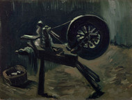 Bobbin winder 1885 by Vincent van Gogh Framed Print on Canvas