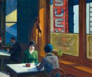 Chop Suey 1929 by Edward Hopper Framed Print on Canvas