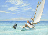 Ground Swell 1939 by Edward Hopper Framed Print on Canvas