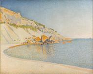 Cassis, Cap Lombard, Opus 196 1889 by Paul Signac Framed Print on Canvas