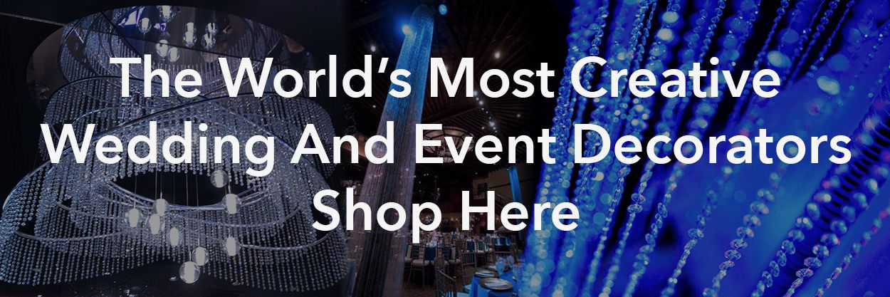 The World's Most Creative Wedding And Event Decorators Shop Here