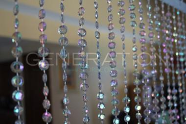 Diamond Beaded Curtains - 3 Feet by 6 Feet - 12 Colors