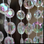 Crystal Iridescent Diamond Beaded Curtains - 9, 12, 20 Feet Long Options