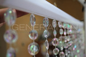 Large Cut Diamond Beaded Curtains - 3 Feet by 6 Feet - 8 Colors