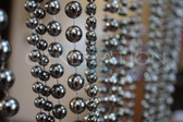 Metal Ball Beaded Curtains - 3 Feet by 6 Feet Long - 5 Colors