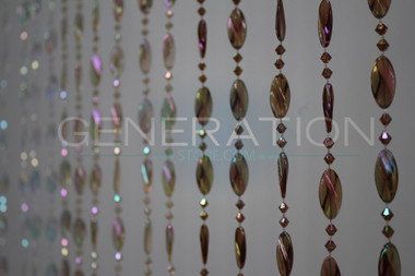 Pendant Beaded Curtains - 3 Feet by 6 Feet - 7 Colors