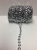 Roll Of Beads PC10 METALLIC SILVER BEADS - Beads By The Roll