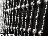 Mirror Disco Ball Beaded Curtains - 3 Feet by 6 Feet