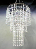 Crystal Gemstone Beaded Chandelier