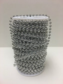 Roll Of Beads PC66 METALLIC SILVER BEADS - Beads By The Roll