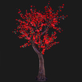 Cherry Blossom Tree 7 Feet 800 Led Lights Red Color Morgan Style