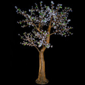 Cherry Blossom Tree 7 Feet 800 Led Lights Warm White Color Morgan Style