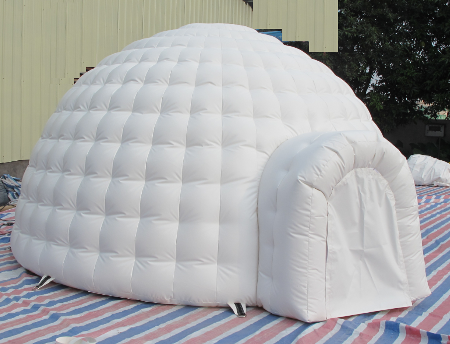Inflatable Igloo Ten Dome for Marketing and advertising
