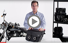 Thor Series Small Harley Sportster Bags Installation Video 1