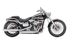 Harley Davidson Softail Breakout Saddlebags