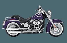 Harley Davidson Softail Deluxe FLSTN Saddlebags