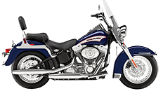 Harley Davidson Softail Heritage FLSTC Saddlebags