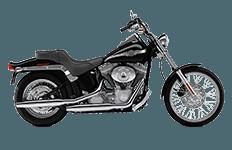 Harley Davidson Softail Standard FXST Bags
