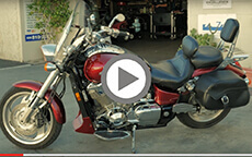 Craig's Honda Shadow Lamellar Hard Bags Install & Review