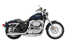 Harley Soprtster Sportser 883 Low Saddlebags
