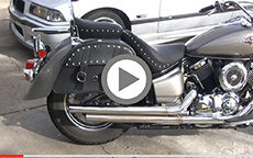Mike Keeling's Charger Slant Motorcycle Yamaha Bags Installation & Review On Yamaha