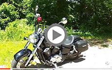 2000 Honda Shadow Ace 750 Motorcycle Saddlebags Review