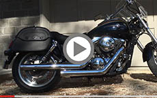 2002 Kawasaki Mean Streak Motorcycle Saddlebags Review
