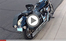 2004 Kawasaki Mean Streak 1600 Motorcycle Saddlebags Review
