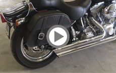 2005 Harley Davidson Softail Standard Motorcycle Saddlebags Review