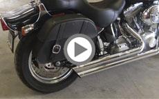 2005 Harley Davidson Softail Standard Motorcycle Saddlebags Review